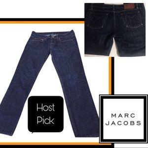 "Marc Jacobs Straight-Leg Jeans Like New 28"""